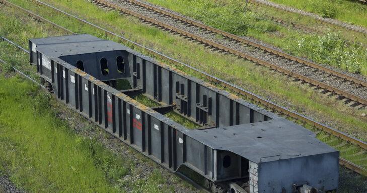 железнодорожный подвижной состав транспортеры